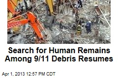 Search for Human Remains Among 9/11 Debris Begins