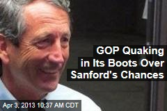 GOP Quaking in Its Boots Over Sanford's Chances