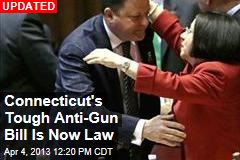 Conn. Legislature Passes Expansive Gun-Control Bill