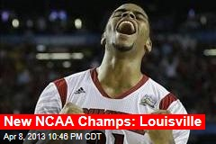 New NCAA Champs: Louisville