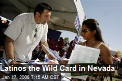 Latinos the Wild Card in Nevada