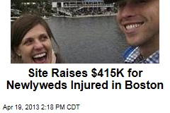 Site Raises $415K for Injured Newlyweds