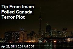 Tip From Imam Foiled Canada Terror Plot