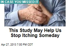 Study May Help Us Stop Itching Someday