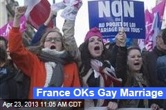 France OKs Gay Marriage