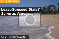 Least-Stressed State? Same as Always...