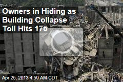 Building Collapse Toll Hits 175 in Bangladesh