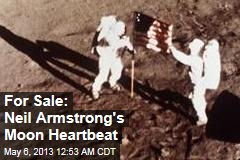 Neil Armstrong's Moon Heartbeat Up for Auction