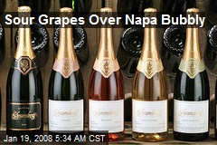 Sour Grapes Over Napa Bubbly