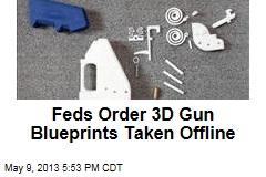 Feds Order 3D Gun Blueprints Taken Offline