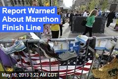 Report Warned About Marathon Finish Line