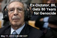 Ex-Dictator, 86, Gets 80 Years for Genocide