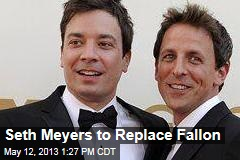 Seth Meyers to Replace Fallon