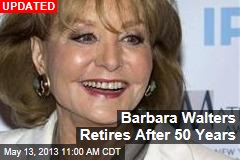 Barbara Walters to Announce Retirement Today