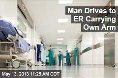 Man Drives to ER Carrying Own Arm