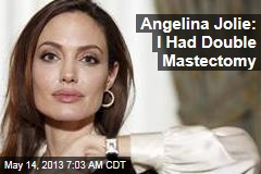 Angelina Jolie Has Double Mastectomy