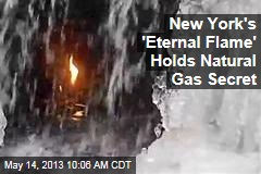New York's 'Eternal Flame' Holds Natural Gas Secret