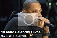 18 Male Celebrity Divas