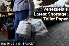 Venezuela's Latest Shortage: Toilet Paper