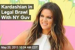 Kardashian in Legal Brawl With NY Guv