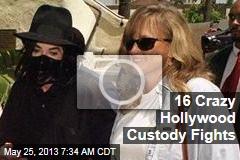 16 Crazy Hollywood Custody Fights