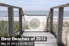 Best Beaches of 2013