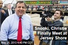 Snooki, Christie Finally Meet at Jersey Shore