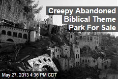 Creepy Abandoned Biblical Theme Park For Sale