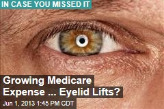 Growing Medicare Expense ... Eyelid Lifts?