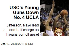 USC's Young Guns Down No. 4 UCLA