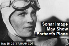 Sonar Image May Show Earhart's Plane
