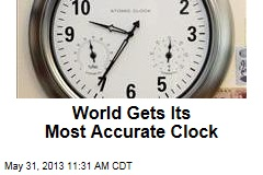 World's Most Accurate Clock Keeps Time for 50B Years