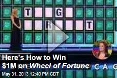 Here's How to Win $1M on Wheel of Fortune
