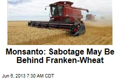 Monsanto: Sabotage May Be Behind Franken-Wheat