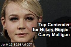 Top Contender for Hillary Biopic: Carey Mulligan