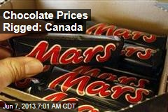 Chocolate Prices Rigged: Canada