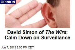David Simon of The Wire : Calm Down on Surveillance