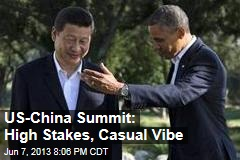 US-China Summit: High Stakes, Casual Vibe