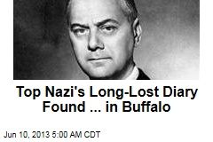 Top Nazi's Long-Lost Diary Found ... in Buffalo