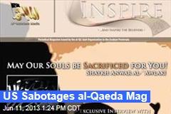 US Sabotages al-Qaeda Mag