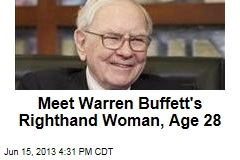 Meet Warren Buffett's Righthand Woman, Age 28