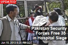 Gunmen Take Over Pakistan Hospital