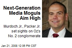 Next-Generation Media Moguls Aim High