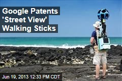 Google Patents 'Street View' Walking Sticks