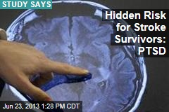 Hidden Risk for Stroke Survivors: PTSD