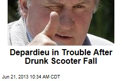 Depardieu in Trouble After Drunk Scooter Fall