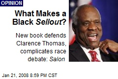 What Makes a Black Sellout ?