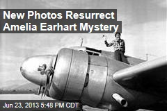New Photos Resurrect Amelia Earhart Mystery