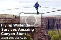 Flying Wallenda Survives Amazing Canyon Stunt