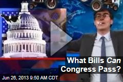 What Bills Can Congress Pass?